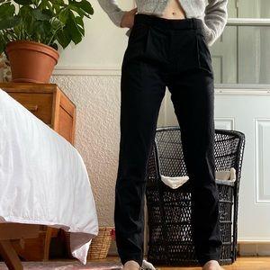 The Kooples black straight leg trousers